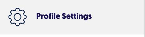 Profile Settings icon
